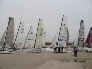Celebrada en Chipiona  la I Regata Internacional de Catamaranes