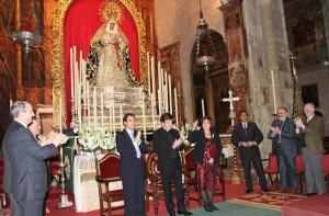 Isabel Fayos pronunció un emotivo pregón de la Semana Santa de Triana 2010