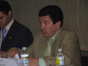 """Barroso afirma que el apoyo al proyecto eolico no se debio a su ausencia por enfermedad sino al """"cambio de postura del PSOE"""""""