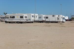 El PP critica el cierre del camping municipal y el descontrol con las autocaravanas(Chipiona)