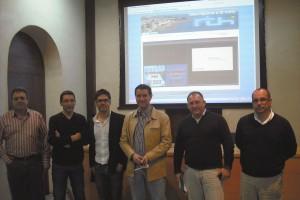 Comunicación y Nuevas Tecnologías presentan las webs de turismo y del ayuntamiento junto con la televisión a la carta(Chipiona)