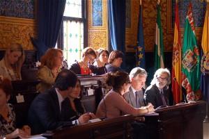 González Cabaña propone la concesión de la Medalla de la Provincia a los 4 militares españoles fallecidos en Haití
