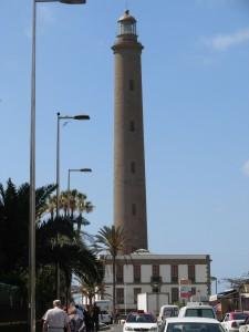 El Faro de Maspalomas está declarado como Bien de Interés Cultural por el Gobierno de Canarias.-