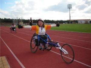 Montse Mellado, atleta  de silla de ruedas del Club Atletismo Chipiona competirá en los Campeonatos de España Absolutos Paralímpicos Internacional IPC en Jerez