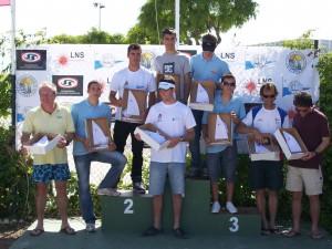 Juan José Sola y Santi Nieto Campeón y Subcampeón respectivamente de  la 2ª Copa de Andalucía de Catamaranes(Chipiona)