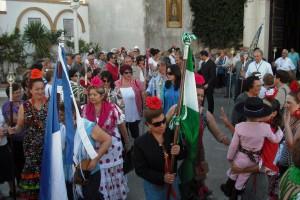 Toda la actualidad del Camino del Rocío en la radio televisión municipal (Chipiona)