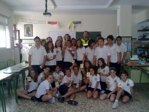 Educación Vial cerró el curso con la entrega de carnets de bicicletas(Chipiona)