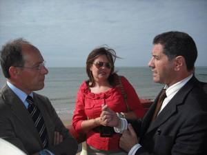 El consejero de Medio Ambiente anuncia que tras el verano comienza a funcionar el ciclo integral del agua en Chipiona