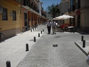 Abierta al tráfico la calle Padre Lerchundi(Chipiona)