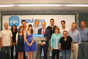 Constituido el nuevo comité local del PP que presidirá Rafael Naval