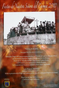 Presentado en Chipiona el cartel de las Fiestas del Carmen 2010