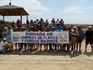 III jornada de limpieza de playas y fondos marinos en Chipiona