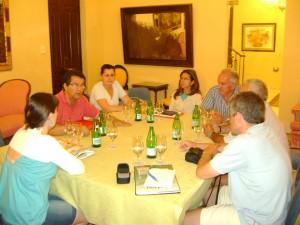 Antonio Peña apuesta por potenciar el comercio de la Plaza de Abastos, como centro neurálgico de Chipiona