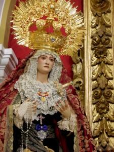 Conceden la Medalla de Oro de la Asociación Santo Ángel de la Policía de Jerez a la Virgen de Los Dolores
