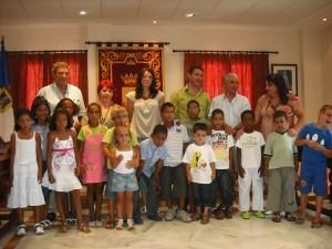 Celebrada la recepción oficial de los niños del Pueblo Saharaui
