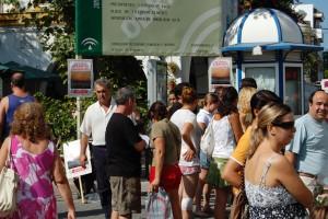 """La plataforma comarcal """"Por un horizonte sin molinos"""" continúa con su campaña de recogida de firmas y anuncia posibles movilizaciones(Chipiona)"""
