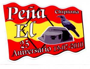 La Peña El Tricornio de Chipiona celebra el 25 aniversario de su fundación con un homenaje a socios destacados.-