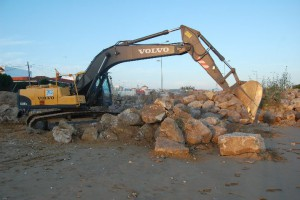 CANS e IU logran paralizar de nuevo las obras en playa Micaela