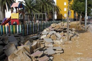 El Partido Popular denuncia la falta de previsión y planificación del gobierno socialista en obras de Avda. Diputación