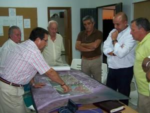 Antonio Peña mantiene el compromiso de crear una Oficina de Planeamiento en la zona de Las Tres Piedras