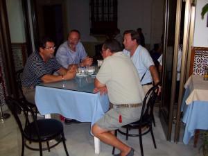 Antonio Peña mantuvo una reunión de trabajo con propietarios del pago MECA BAJA