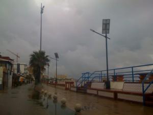 La asociación cultural Caepionis en contra de la instalación de nuevas farolas en Las Canteras y playa de Regla