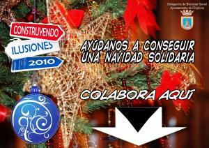 """Bienestar Social presenta la campaña de navidad solidaria """"construyendo ilusiones"""" (Chipiona)"""