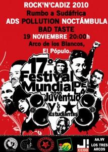 Presentado el III festival Rock'n'Cádiz 2010 ¡Rumbo a Sudáfrica!