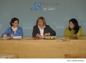 La formación y la prevención, prioridades de la Diputación de Cádiz en la lucha contra la violencia hacia las mujeres