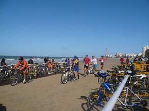 La playa de Regla una magnífica instalación deportiva natural para el I Duatlón Playas de Chipiona