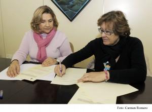 Diputación de Cádiz renueva su apoyo  a la asociación Agamama