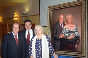 Antonio Montiel inmortaliza las bodas de oro de Chiquito de la Calzada y su esposa
