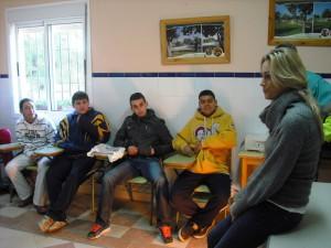 La concejala de Educación visita el PCPI de vivero, jardines y parques