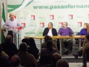 El andalucista Manuel Maria de Bernardo  candidato a la alcaldía de San Fernando