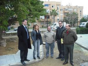 Mamen Sánchez visita proyectos financiados con fondos FEIL en la localidad