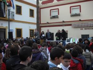 Éxito de participación en el acto público de sensibilización sobre los objetivos del milenio