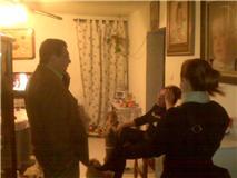Antonio Peña conoció el estado de las viviendas de Camacho Baños