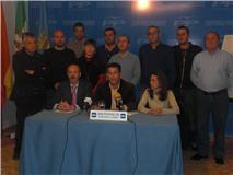 Antonio Peña y el Ejecutivo Local, expresan su malestar por las descalificaciones vertidas por los socialistas