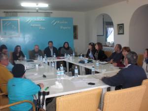 Antonio Peña mantuvo una reunión de trabajo con el Comité Ejecutivo Local
