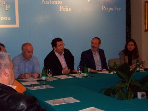 """Antonio Peña celebra el I FORO DE URBANISMO, bajo el lema """"Una ciudad por construir"""""""