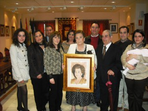 Josefa Mellado recibe un homenaje por su trayectoria profesional dentro de los actos del Día Internacional de la Mujer