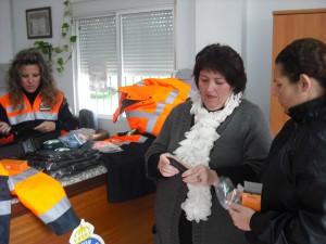 Protección Civil recibe uniformidad gracias a una subvención de Gobernación(Chipiona)