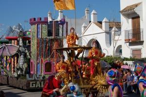 La agrupación las Galeras gran triunfadora de la cabalgata 2011