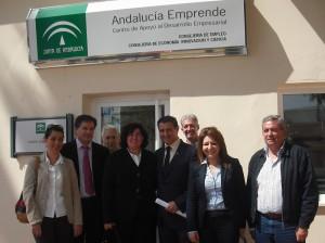 La Junta inaugura el centro de apoyo al desarrollo empresarial de Chipiona