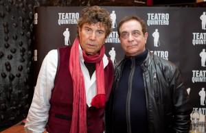 Emotivo homenaje del Miguel Caiceo a Paco Gandía en el Teatro Quintero.-