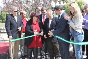 Inaugurado el parque infantil de tráfico situado en 2500 metros cuadrados del parque público Blas Infante