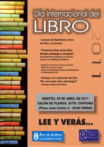Chipiona conmemora durante toda la semana el Día Internacional del Libro