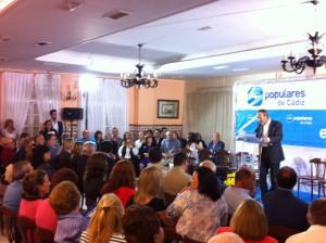 Miguel Arias, apoya la presentación de la candidatura de Antonio Peña