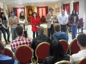 Juventud ha clausurado los cursos impartidos a jóvenes de la localidad en la casa de la cultura