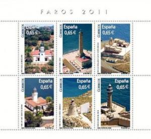 Correos dedica un sello al Faro de Chipiona